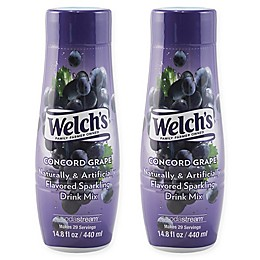 SodaStream® Welch's® 2-Pack Concord Grape Drink Mix
