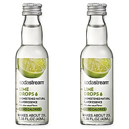 SodaStream® 2-Pack Lime Fruit Drops Drink Mix