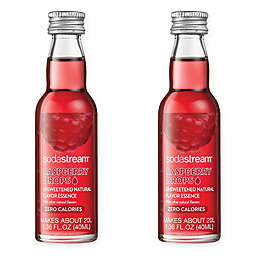 SodaStream® 2-Pack Raspberry Fruit Drops Drink Mix
