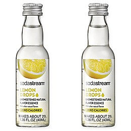 SodaStream® 2-Pack Lemon Fruit Drops Drink Mix
