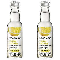 SodaStream® 2-Pack Lemon Fruit Drops Drink Mix