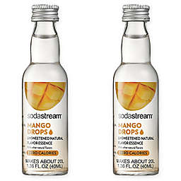 SodaStream® 2-Pack Mango Fruit Drops Drink Mix
