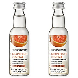SodaStream® 2-Pack Grapefruit Fruit Drops Drink Mix