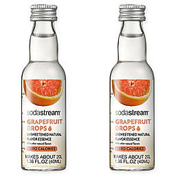 SodaStream® 2-Pack Grapefruit Fruit Drops Drink Mix
