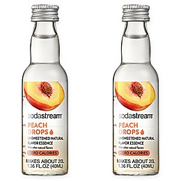 SodaStream® 2-Pack Peach Fruit Drops Drink Mix