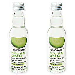 SodaStream® 2-Pack Cucumber Fruit Drops Drink Mix