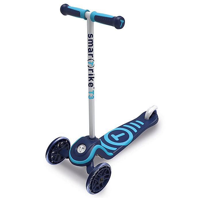 Alternate image 1 for smarTrike® T3 Scooter in Blue