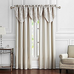 Waterford® Belissa 84-Inch Rod Pocket Window Curtain Panel Pair in Ivory