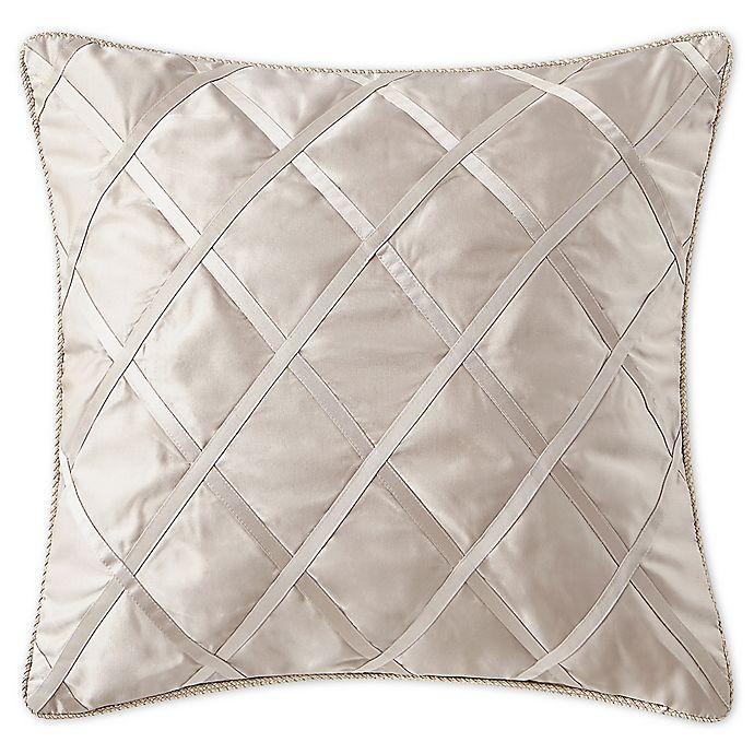 Alternate image 1 for Waterford® Gisella European Pillow Sham in Blush
