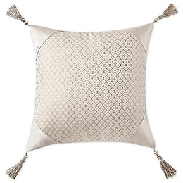 Waterford® Gisella Square Throw Pillow in Blush/Ivory