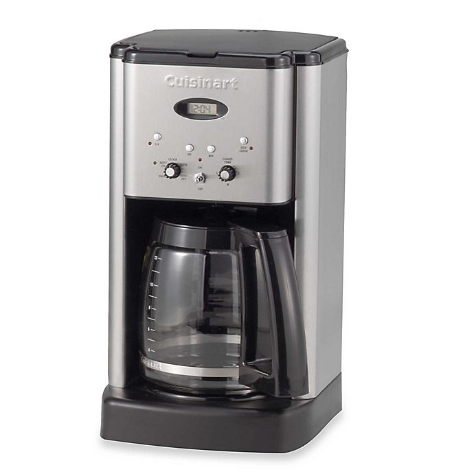 Alternate image 1 for Cuisinart® Brew Central 12-Cup Coffee Maker in Black Stainless