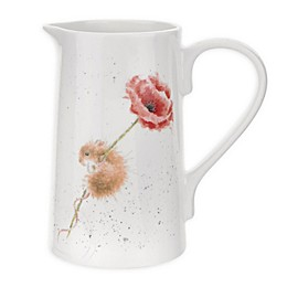 Portmeirion® Wrendale Designs 2 Pint Mouse and Poppy Jug