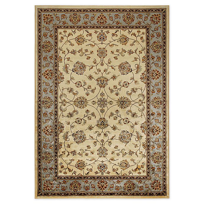 Alternate image 1 for Verona Classic 8-Foot x 11-Foot Rug in Ivory/Blue