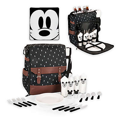Picnic Time® Disney® Mickey Mouse Picnic Backpack in Black