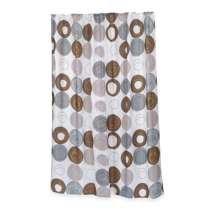 Alternate image 1 for Home Fashions Madison Shower Curtain