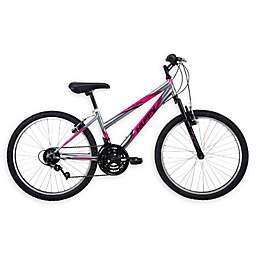 Huffy® Girls 24-Inch Incline Mountain Bicycle in Gunmetal