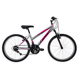 Huffy® Girls 24-Inch Incline Mountain Bicycle in Gunmetal