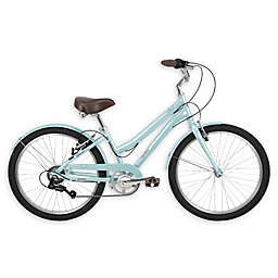 Huffy® Sienna™ 24-Inch Girl's Comfort Bike in Blue