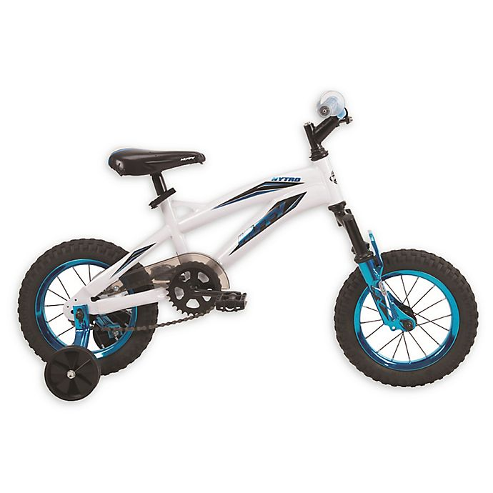 Alternate image 1 for Huffy® Nytro™ 12-Inch Boy's Bike in White