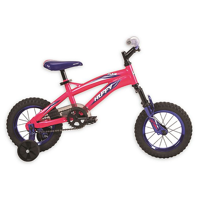 Alternate image 1 for Huffy® Flair™ 12-Inch Girl's Bike in Pink