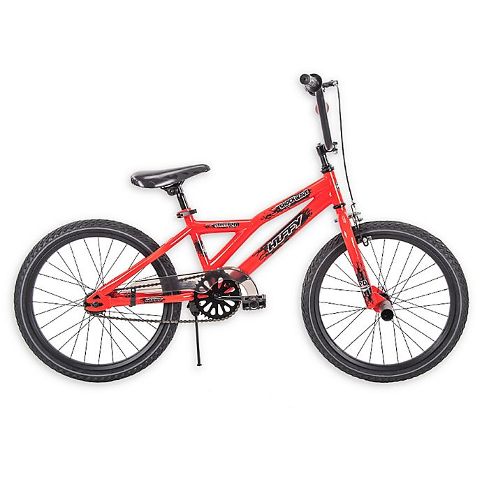 Alternate image 1 for Huffy® Shockwave 20-Inch Bike in Neon Red