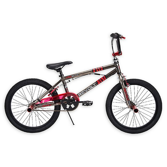 Alternate image 1 for Huffy® BMX Revolt 20-Inch Bicycle in Metal