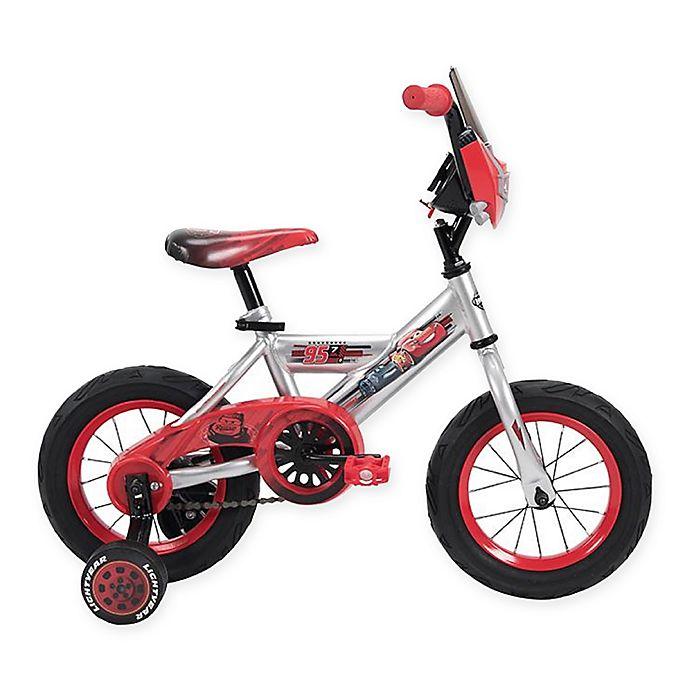 Alternate image 1 for Huffy® Disney® Cars 12-Inch Bike in Silver