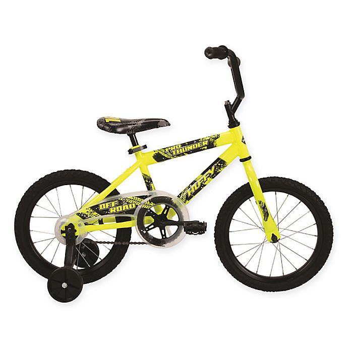 Alternate image 1 for Huffy® Pro Thunder™ 16-Inch Bicycle in Green