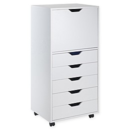Winsome Trading Halifax 5-Drawer High Storage Cabinet