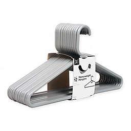 SALT™ 12-Pack Heavyweight Hangers in Grey Mist