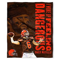 d755b77471f NFL Baker Mayfield HD Silk Touch Throw Blanket