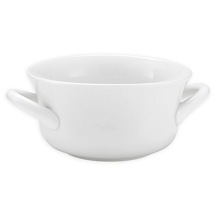 Alternate image 1 for Over and Back® Hearty Soup Bowls in White (Set of 4)