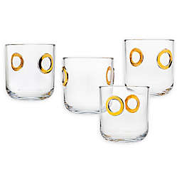 Godinger® Nico Double Old Fashioned Glasses (Set of 4)