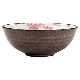 Over and Back® Sakura Soup/Cereal Bowls in Pink (Set of 4)