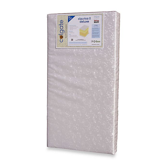 Alternate image 1 for Classica II Deluxe 2-Stage Foam Crib Mattress by Colgate