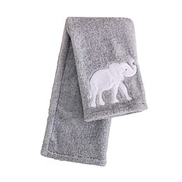 Levtex Baby® Elephant Parade Stroller Blanket in Grey