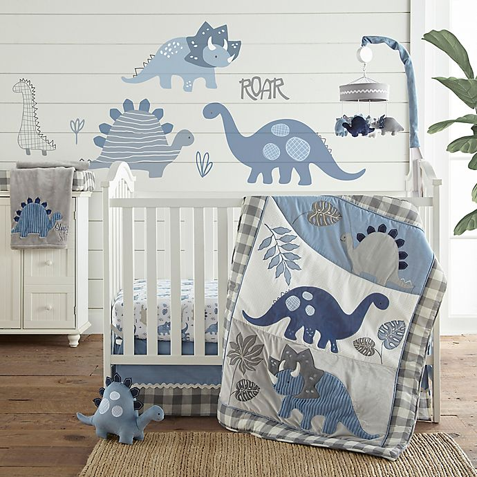 Alternate image 1 for Levtex Baby® Kipton 4-Piece Crib Bedding Set in Blue