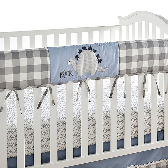 Alternate image 1 for Levtex Baby® Kipton Crib Rail Guard in Blue/Grey