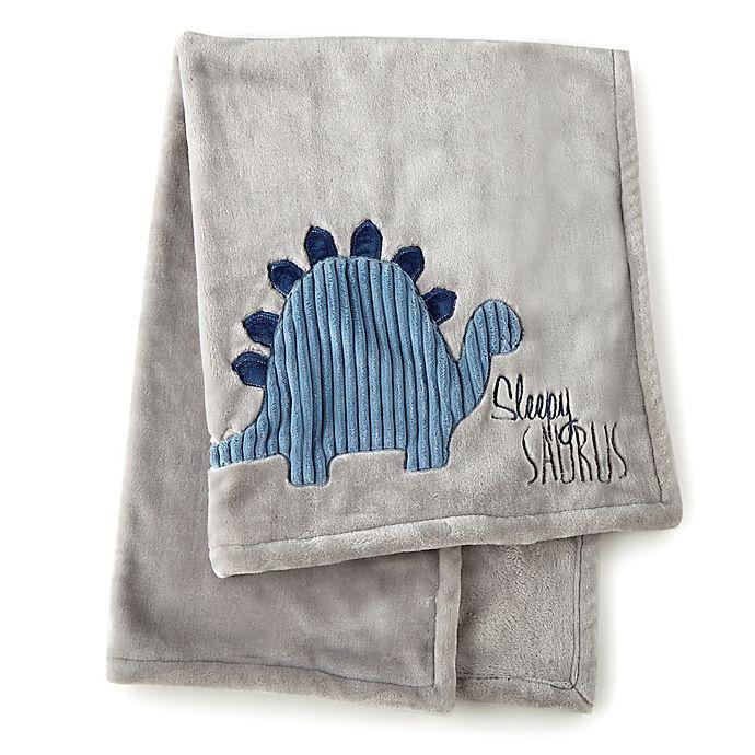 Alternate image 1 for Levtex Baby® Kipton Stroller Blanket in Grey