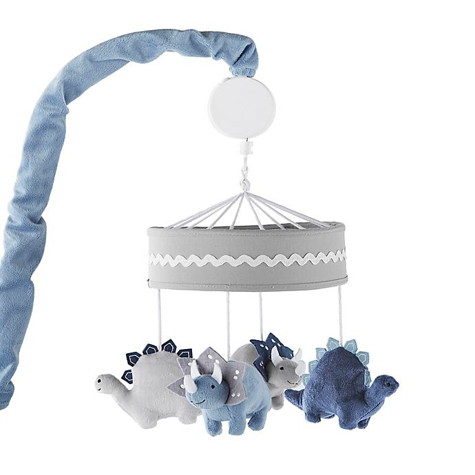 Alternate image 1 for Levtex Baby® Kipton Musical Mobile in Blue