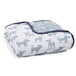aden + anais® Waverly Receiving Blanket in Blue