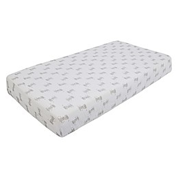 aden + anais™ essentials Elephant Fitted Crib Sheet in Grey