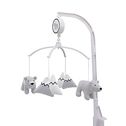 Nojo® carter's® Explore Baby Bear Musical Mobile in Grey