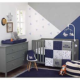 carter's® Exlore Baby Bear 4-Piece Nursery Crib Bedding Set in Navy