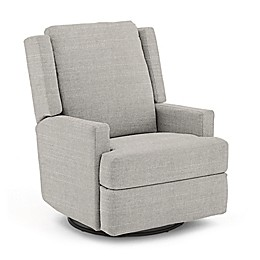 Best Chairs Custom Ainsley Swivel Glider Recliner