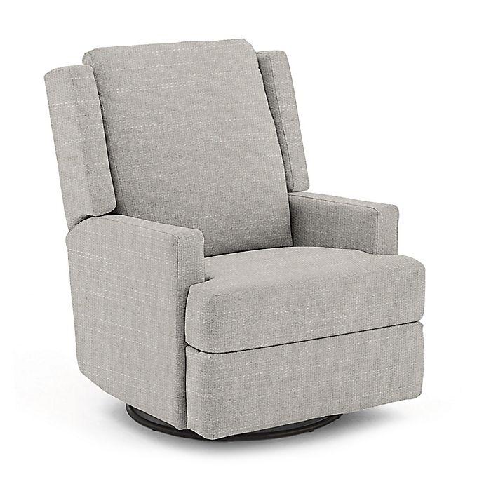 Alternate image 1 for Best Chairs Custom Ainsley Swivel Glider Recliner