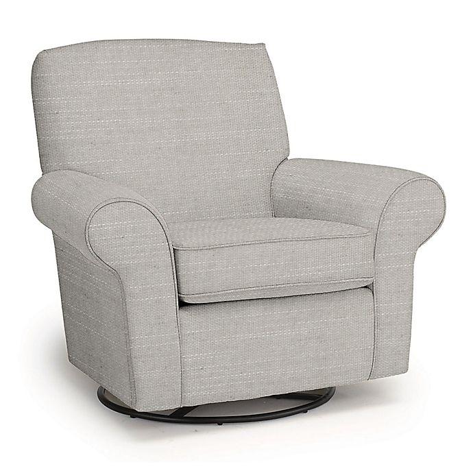 Best Chairs Custom Mandy Swivel Glider | Bed Bath & Beyond