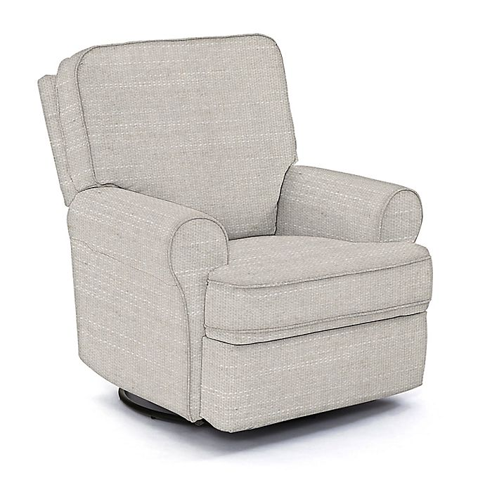 Swell Best Chairs Custom Tryp Swivel Glider Recliner In Grey Fabrics Creativecarmelina Interior Chair Design Creativecarmelinacom