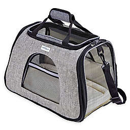Katziela Pet Carrier with Replaceable Cover in Grey
