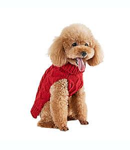 Suéter tejido chico para perro Bee & Willow™ Home en rojo